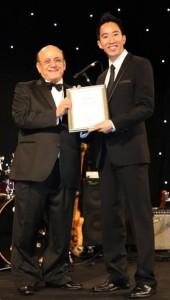 With EBA founder Joseph Assaf