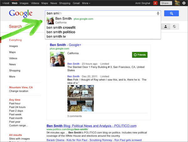 Search Plus results for [ben smith]