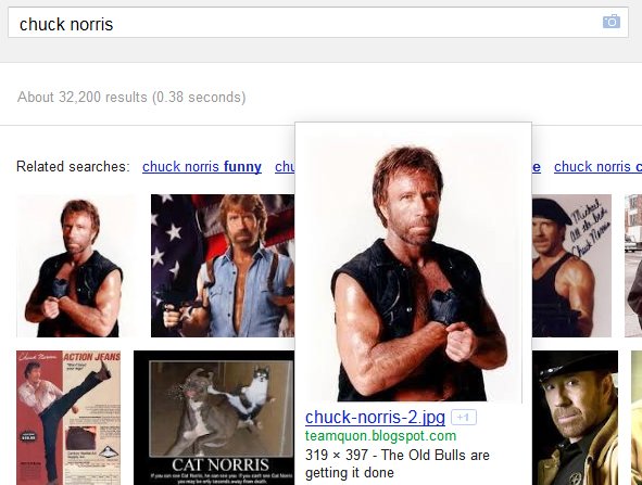 Image Search for Chuck Norris