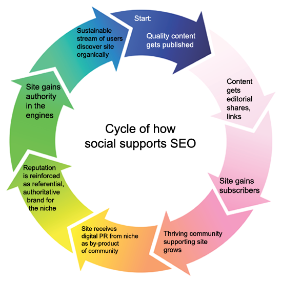 Social SEO Cycle