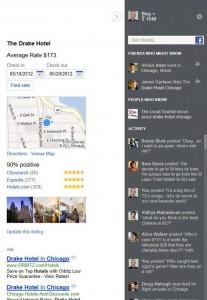 Bing Social Side Bar