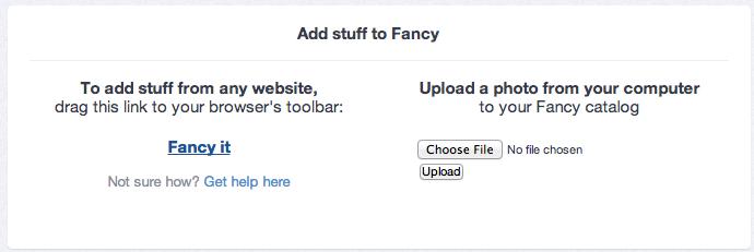 Fancy It
