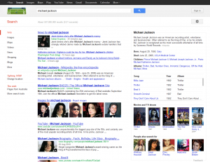 Michael Jackson Google Search