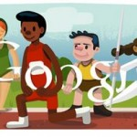The Opening Ceremony at the London Olympics Google Doodle