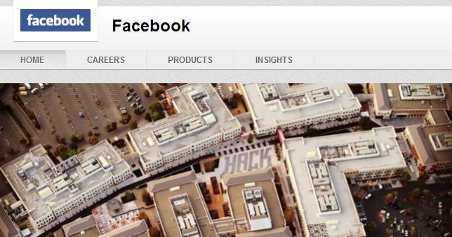 Facebook LinkedIn Header Example