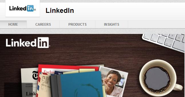 LinkedIn Header Example