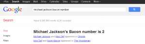 Michael Jackson Bacon Number