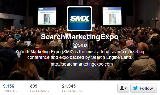 Search Marketing Expo Twitter Header