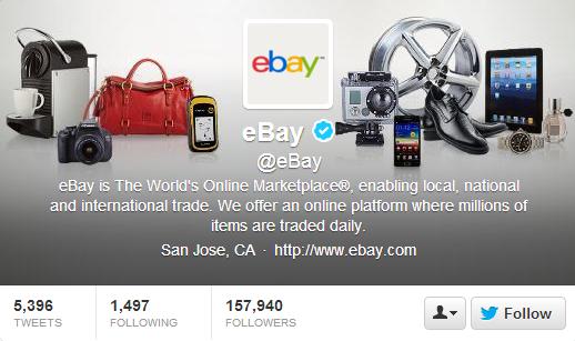 eBay Twitter Header