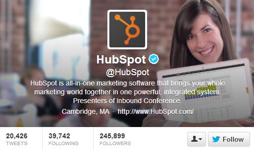 Hubspot Twitter Header