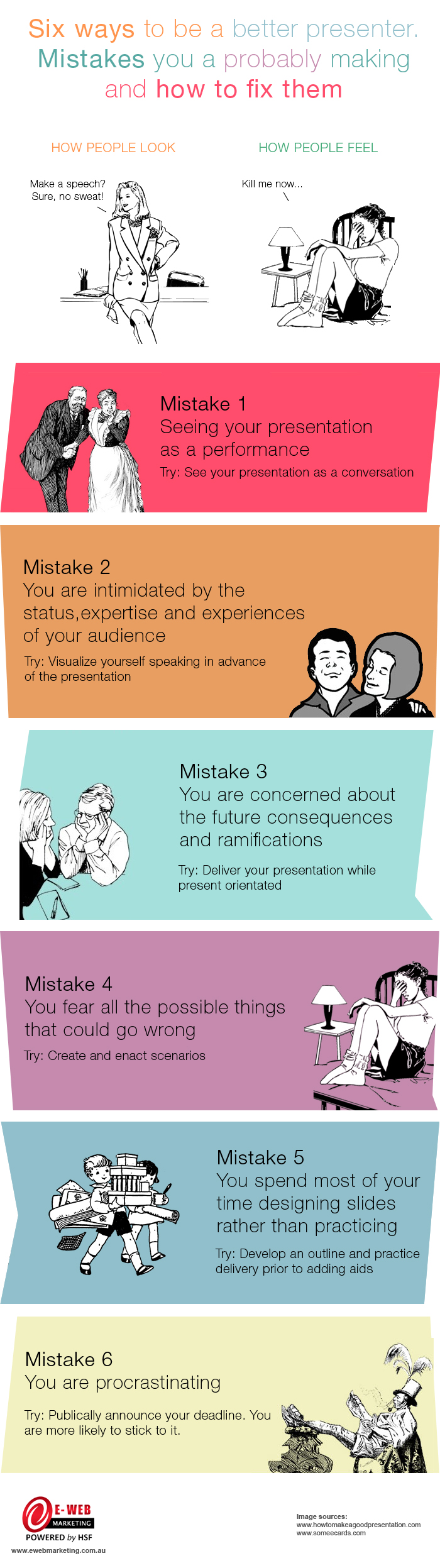6 Ways to Rid Stage Fright During Presentations