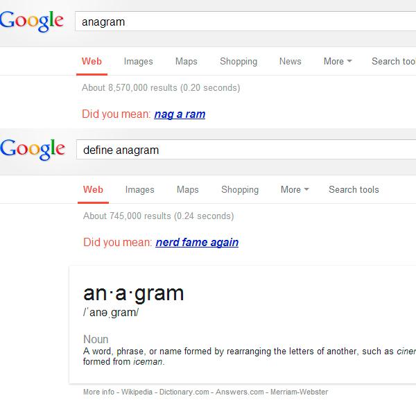 google-anagram