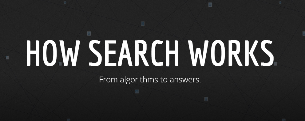 How Search Works - An Interactive Infographic by Google