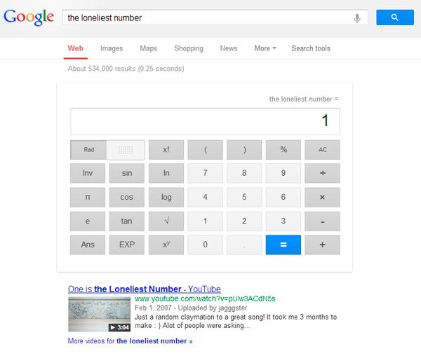 loneliest-number