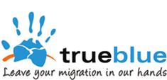 True Blue Migration Logo
