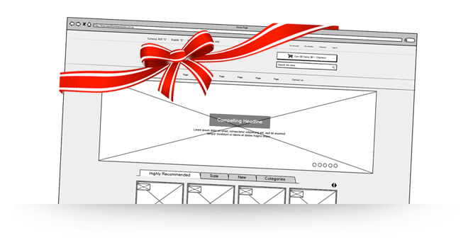 wireframe-gift