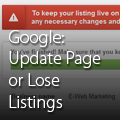 Google+: Update Page or Lose Listings